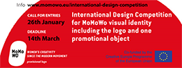 Il Banner promozionale dell'International Design Competition